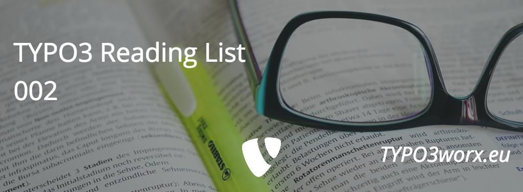 TYPO3 Reading List 002