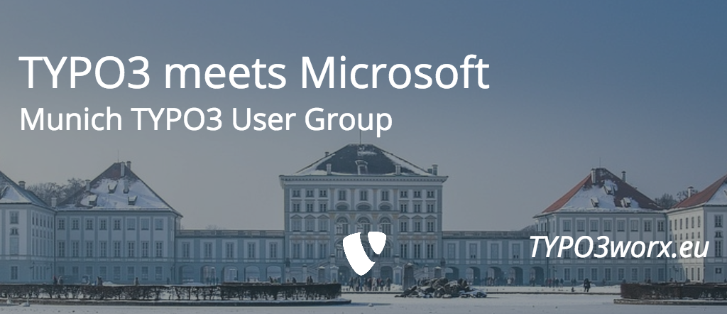 Munich TYPO3 User Group meets Microsoft