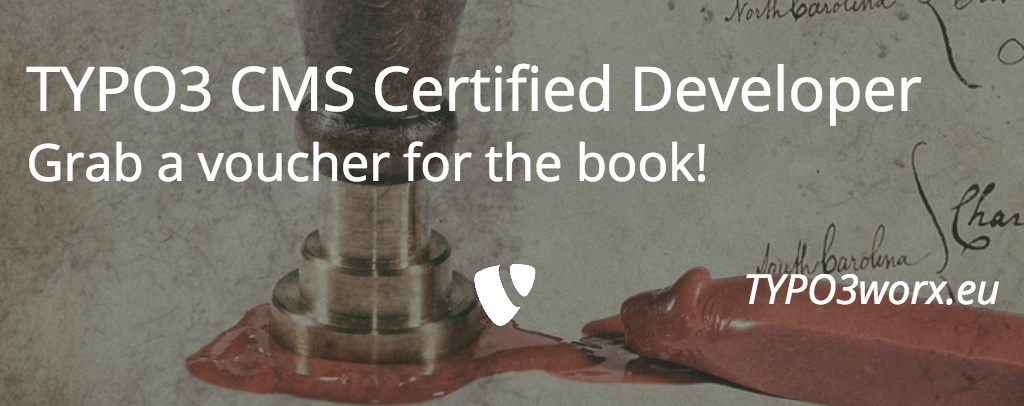 TYPO3 CMS Certified Developer – Get prepared!