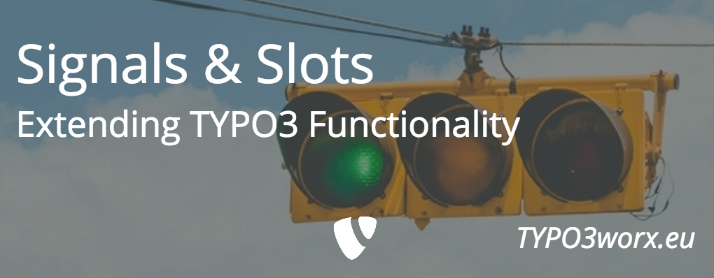 Signals and Slots – Extend TYPO3 Functionality