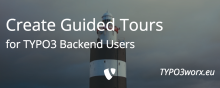 Create Guided Tours for TYPO3 Backend Users