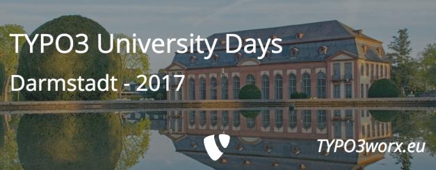 TYPO3 University Days 2017