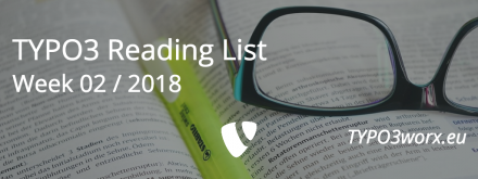 TYPO3 Reading List 01 / 2018