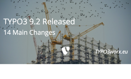 TYPO3 9.2 – Fourteen Main Changes