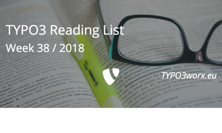 TYPO3 Reading List – Week 38 / 2018