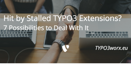 "Seven Possibilities to Deal With ""Stalled"" TYPO3 Extensions"