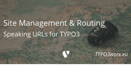 TYPO3 Site Management and Routing
