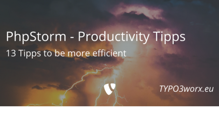 PhpStorm – 13 Productivity Tips for TYPO3