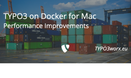 TYPO3 on Docker for Mac: Performance Improvements
